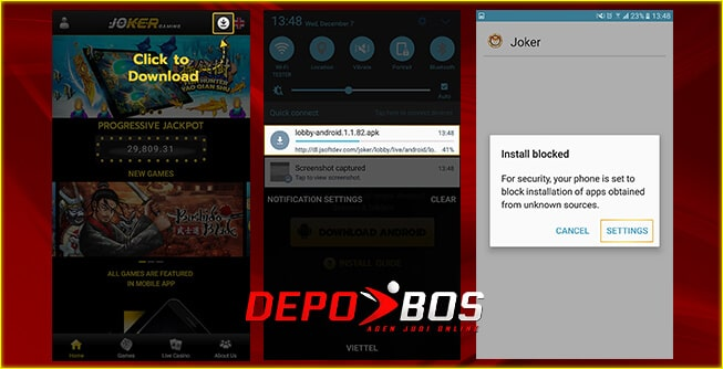 step download android joker88 pertama