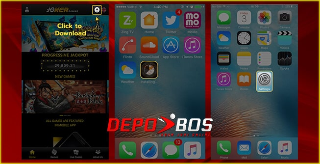 step download ios joker88 pertama